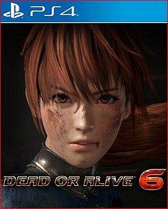 DEAD OR ALIVE 6 PS4 E PS5 PSN MÍDIA DIGITAL