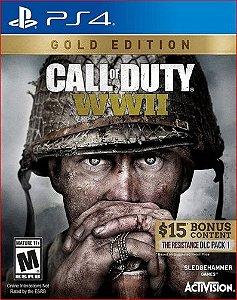 CALL OF DUTY WWII GOLD EDITION PS4 PSN MÍDIA DIGITAL