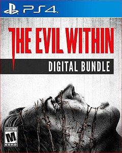 The evil within digital bundle PS4 MÍDIA DIGITAL