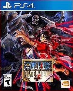 One piece pirate warriors 4 PS4 MÍDIA DIGITAL