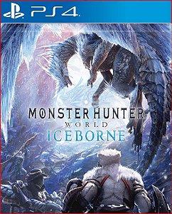 DLC MONSTER HUNTER WORLD ICEBORNE PS4 MÍDIA DIGITAL