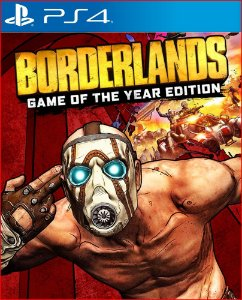 borderlands: game of the Year edition ps4 psn mídia digital