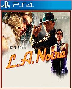 L.A. Noire PS4 midia digital