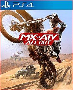 MX VS ATV ALL OUT PS4 MÍDIA DIGITAL