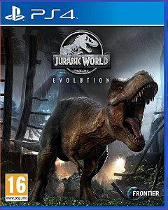 Jurassic world evolution PS4 midia digital