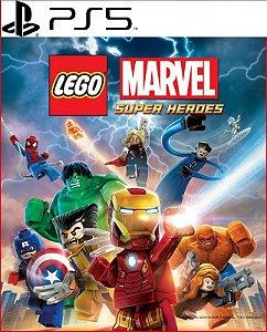 LEGO MARVEL SUPER HEROES PS5 PSN MÍDIA DIGITAL