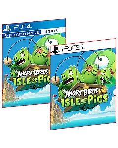 Angry Birds VR: Isle Of Pigs PS4 E PS5 MÍDIA DIGITAL