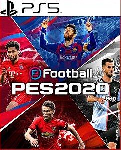 efootball pes 2020 ps5 psn midia digital