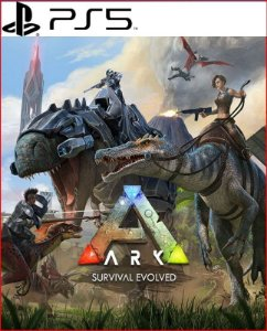 ark survival evolved - ps5 mídia digital português