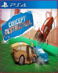 CONCEPT DESTRUCTION PS4 PSN MÍDIA DIGITAL