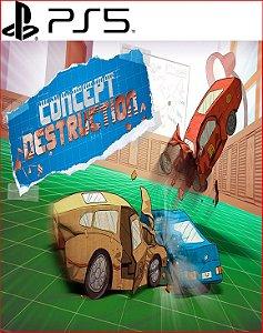 CONCEPT DESTRUCTION PS5 PSN MÍDIA DIGITAL