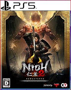 NIOH 2 REMASTERED A EDIÇÃO COMPLETA PS5 PSN MÍDIA DIGITAL