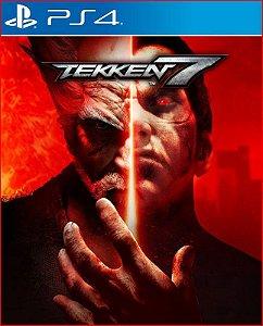 Tekken 7 Portugues ps4 midia digital