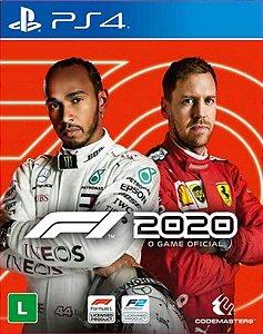 F1 2020 formula 1 ps4 mídia digital promoção