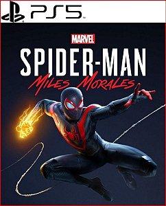SPIDER-MAN MILES MORALES PS5 PSN MÍDIA DIGITAL