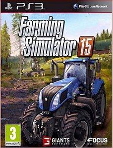 FARMING SIMULATOR 15 PS3 PSN MIDIA DIGITAL