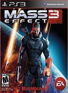 MASS EFFECT 3 PS3 PSN MIDIA DIGITAL