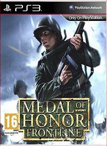 MEDAL OF HONOR FRONTLINE PS3 PSN MIDIA DIGITAL