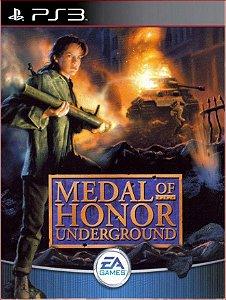 MEDAL OF HONOR UNDERGROUND (PSONE CLASSIC) PS3 MIDIA DIGITAL