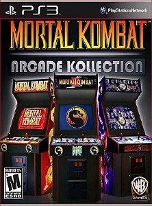 MORTAL KOMBAT ARCADE COLLECTION PS3 PSN MIDIA DIGITAL