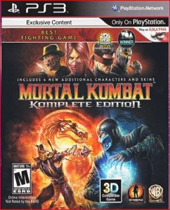 MORTAL KOMBAT KOMPLETE EDITION PS3 PSN MÍDIA DIGITAL