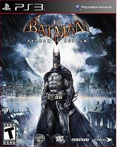 batman arkham asylum ps3 psn mídia digital
