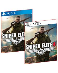 Sniper elite 4 PS4 E PS5 MÍDIA DIGITAL