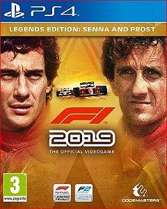 F1 2019 LEGENDS EDITION SENNA AND PROST PS4 MÍDIA DIGITAL