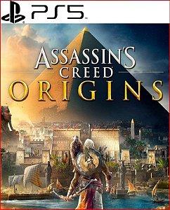 assassin's creed Origins ps5 português psn mídia digital