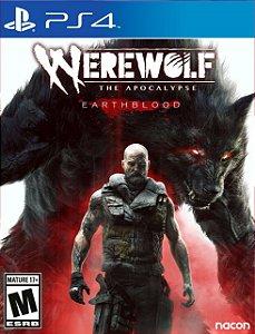 Werewolf the apocalypse earthblood PSN PS4 MIDIA DIGITAL