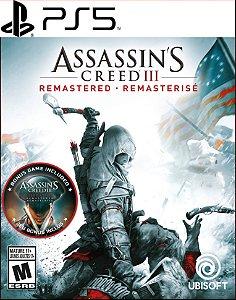 assassin's creed 3 remastered ps5 mídia digital