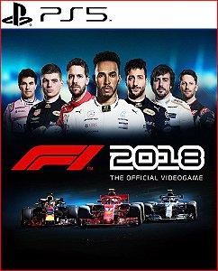 F1 2018 PS5 MÍDIA DIGITAL