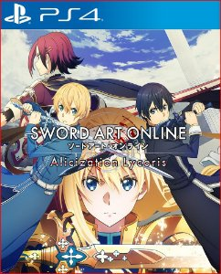 sword art online alicization lycoris ps4 psn mídia digital