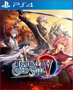 The legend of heroes trails of cold steel IV PS4 MÍDIA DIGITAL