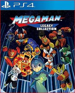 Mega Man X Legacy Collection PS4 Mídia Digital