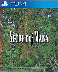 Secret of Mana Ps4 PSN Mídia Digital