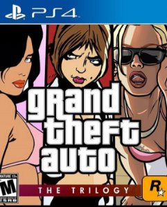 GRAND THEFT AUTO THE TRILOGY PS4 MÍDIA DIGITAL