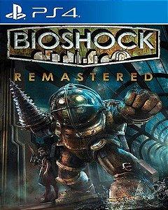 bioshock remastered ps4 mídia digital