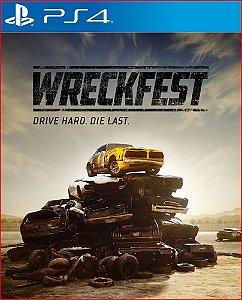 Wreckfest PS4 PSN MÍDIA DIGITAL