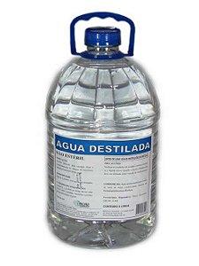 ÁGUA DESTILADA NÃO ESTÉRIL - 5 LT