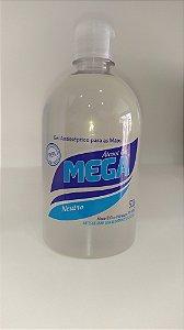 ALCOOL GEL 70% 500 GR - MEGA