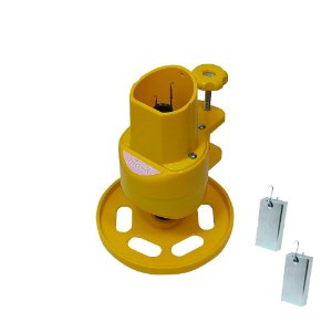 Maquina de Tricotin Resistente e Durável Cor Amarela- TRICORD