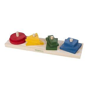 Prancha Montessori Formas Geométricas