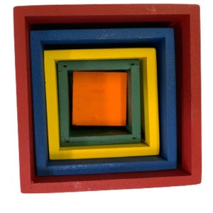 Caixas coloridas Montessori