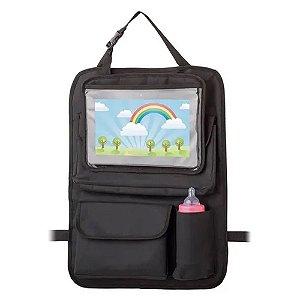 Organizador para carro com case para tablet