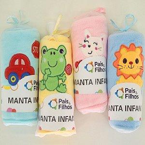 Manta Infantil - Diversas cores