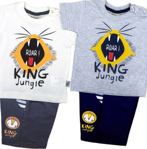 Conjunto Masculino MM Moletinho King Jung