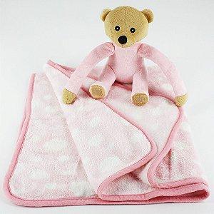 Cobertor e Ursinho de Pelúcia
