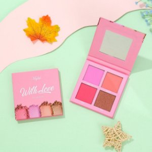 Paleta De Blush With Love 4 Cores- Mylife