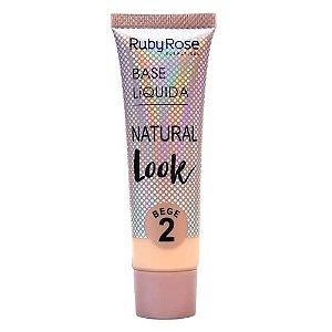 Base Natural Look Bege Ruby Rose